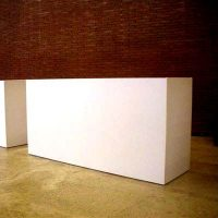 Bancone Desk Bianco | Affitto Bancone Desk Bianco | Noleggio Bancone Desk Bianco