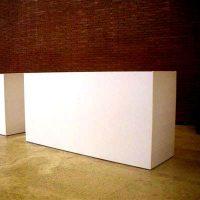 Bancone Desk Bianco   Affitto Bancone Desk Bianco   Noleggio Bancone Desk Bianco