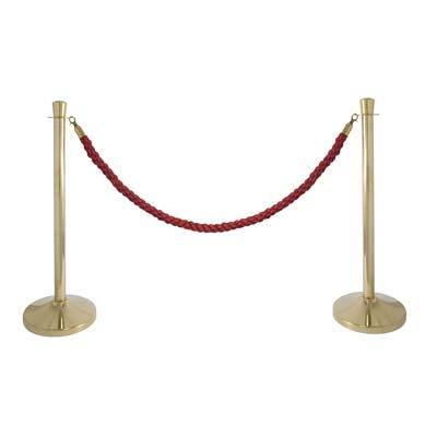 Colonnina Dorata Cordone Rosso| Affitto Colonnina Dorata Cordone Rosso| Noleggio Colonnina Dorata Cordone Rosso